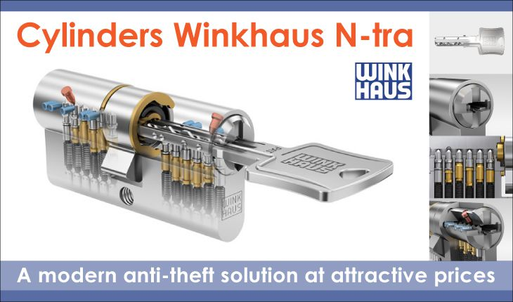 Wkładki Winkhaus N-tra-ang