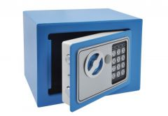 Safe HOME with electronic lock (230x170x170 mm) - Blue