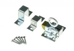 Window Latch - Galvanized Silver