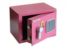 Basic Safe YALE MINI (YSV/170/DB1/P-CW) - Pink