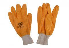 Rękawice nitrylowe żółte całooblewane (LA-021)