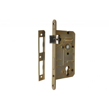 Mortise Lock LOB 60/50, PZ - Yellow Galvanized