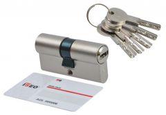 Cylinder lock ISEO R6 9/50 satin