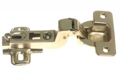 Hinge with guide FI-35, Bended, Metal