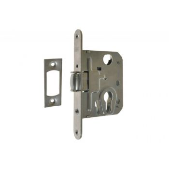 Mortise Narrow Roller Profile Lock HOBES 2784/ 50 with switch