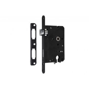 Mortise Lock 72/60 PZ with lever, Varnish  - Left