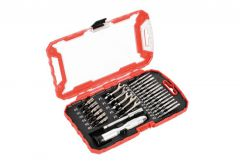Drill Bits and Socket Wrench Set, 27 elements MHA05004