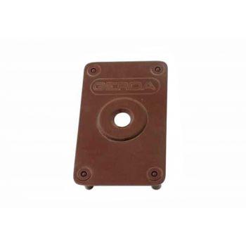 Reinforced Plate for GERDA TYTAN ZX Lock - Brown