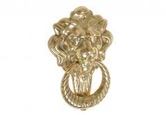 KOLD Door knocker LEW (LION) large 120x180 brass