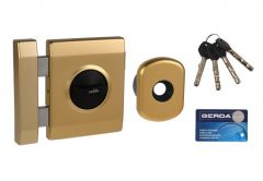 TYTAN-Gerda ZX PLUS Lock with Elements - Gold