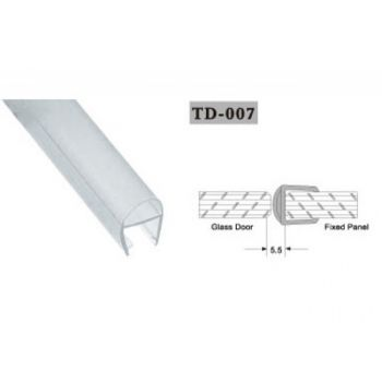 Seal for shower cabin TD-007 10mm 2,2 linear metres