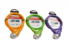 Bicycle Lock LOB BRKV for Key, Colour Mix