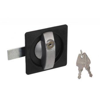 Mortise Lock 23500-01 straight bolt: 3 pkt. 57mm, Right