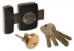 Surface Mounted Lock C Class FANA-2001 (2ZDF) Lock - Black