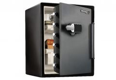 Master Lock Safe LFW205TWC with electronic lock, water and fireproof (