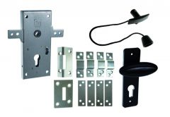 Mortise Lock KASTEL-2 with Horizontal Rods