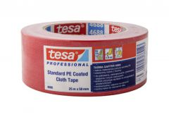 Repair tape TESA   red   length 25m, width 50mm (04688-00046-00)