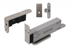 Hinge JNF (pivot type) with Soft-close for wooden, two-way doors (35-45mm, 900 mm, 100 kg)