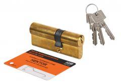 Cylinder lock LOB WP100 HEKTOR 30/35 - Brass 4.2 B class