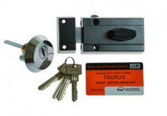 Rim Lock LOB TC11 TAURUS 1 certificated, C Class, Graphite