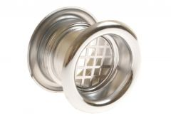 Ventilation bush fi 40 TW  gloss chrome