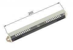 Pressure Air Intake PC15/392S - White