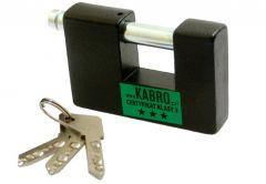 Padlock KARBO C3-27, 3 Class Certificate