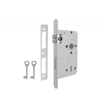 Mortise Lock LOB 60/50, BB - White
