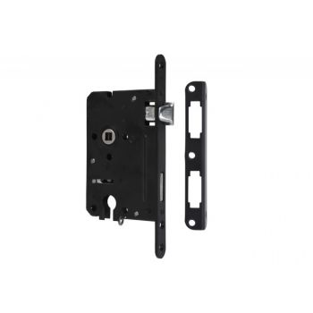 Mortise Lock 72/60 PZ with lever, Varnish  - Right