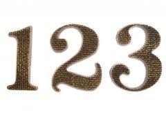 10cm Patina number TIFFANY