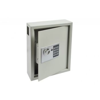Combination Locker Cabinet Deposit for 44 Keys (300x365x100mm) - White