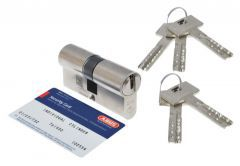 Cylinder ABUS VELA 2000 30/30 cl.6,2 Nickel, drilled key