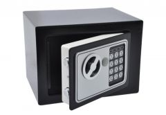 Safe HOME with electronic lock (230x170x170 mm) - Black