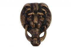 LEW (LION) knocker, small patina