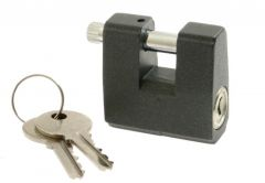 Padlock with Straight Shackle T-13/8, 42mm