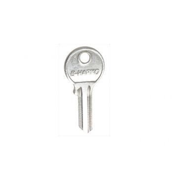 Blank Key for Padlock B-HARKO 40 Brass and Stainless Steel