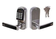 Combination Lock with Handle DIGIT 03, Left, Stainless Steel, Spindle: