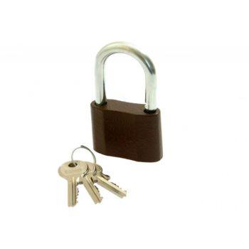 Cast-Iron Padlock LOB KS 60, 3 Small Keys in set