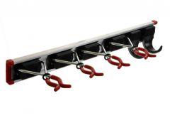 Tool Holder BRUNS (length 50cm, 4 holders, 2 hooks)