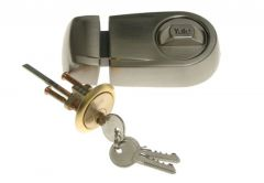 Lock YALE Y2T Nickel Satin; Slotted Key