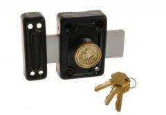 Rim Lock ZDR 3 Keys - Black