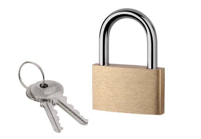 Latch Padlock KD-20 - Brass