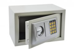 Safe OFFICE with electronic lock (310x200x200 mm) - White