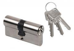 Cylinder lock LOB ARES WA54 55/65 , nickel
