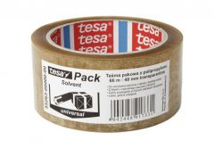Tape TESA packed SOLVENT transparent   length 66m, width 48mm (55263-0