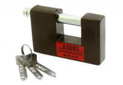 Padlock KABRO C4-27, 4th class certificated