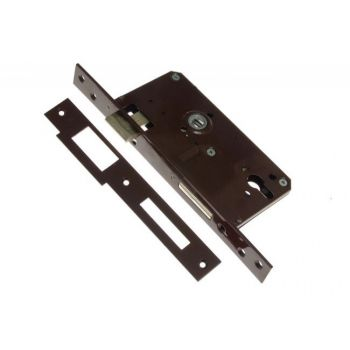 Gate Mortise Lock 90/63,5 PZ, Right - Varnish