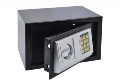 Office Safe with electronic lock (310x200x200 mm), black