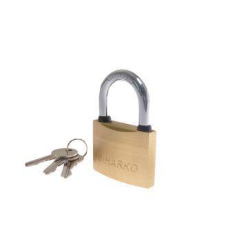 B-Harko latch padlock HM 40mm brass