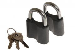 Padlock 50/8 key alike (2-pack)
